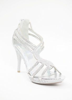 Wedding Silver Shoes   Chole (Style 450 5)