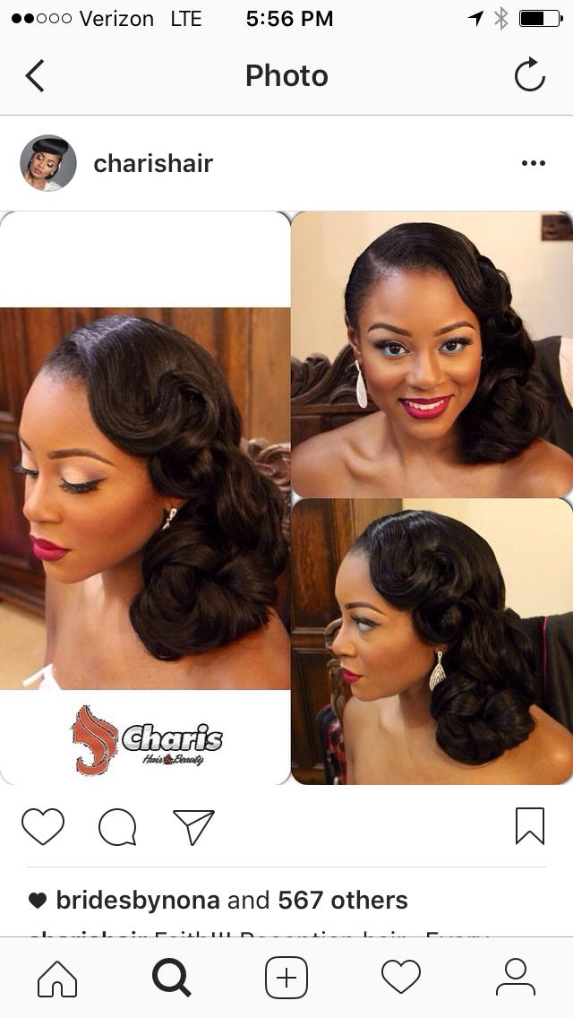 Natural Hair Wedding By Tiffanie Thompson On Classy Chic Affair In