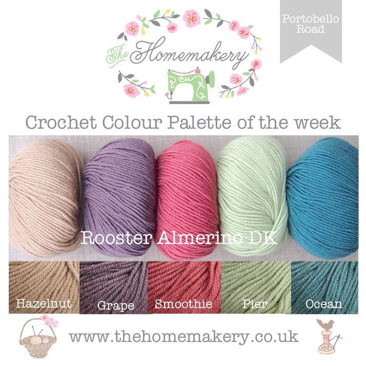 Crochet Colour Palette: Portobello Road