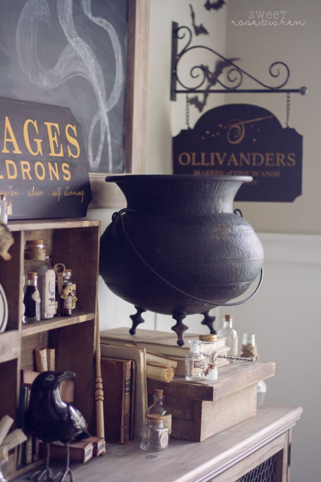 Magical Halloween Decorating Ideas 2020 Halloween Home Tour: Wizard Magic in a Muggle World in 2020