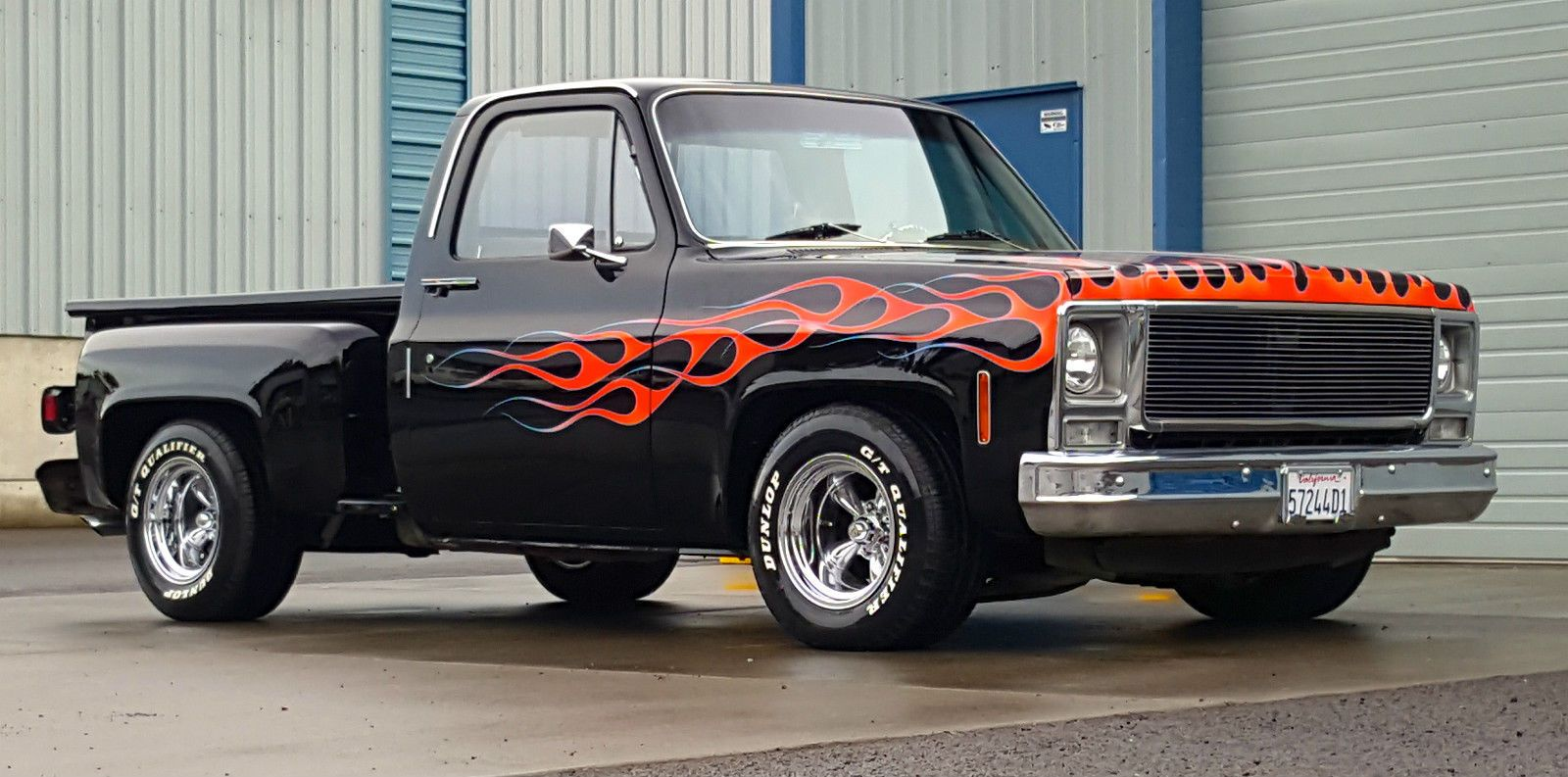 1979 chevrolet c 10 scottsdale step side pickup custom custom trucks for sale pinterest. Black Bedroom Furniture Sets. Home Design Ideas