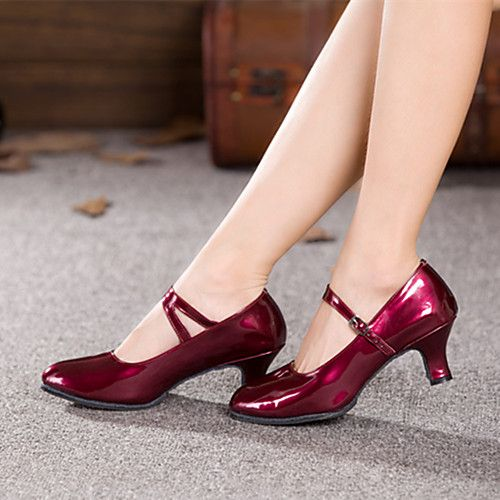 Women's Latin Shoes Ballroom Shoes Salsa Shoes Lin