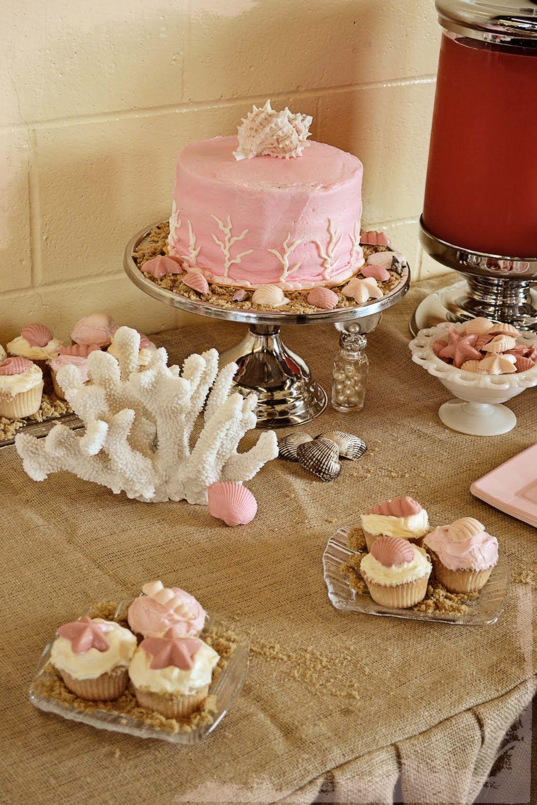 birthday cake with shells - Google Search