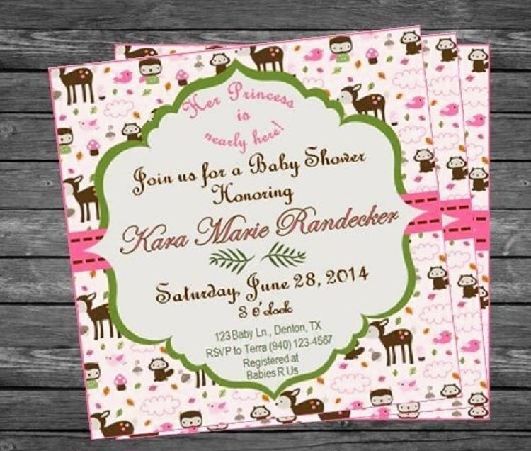Office Depot Custom Baby Shower Invitations Party Ideas