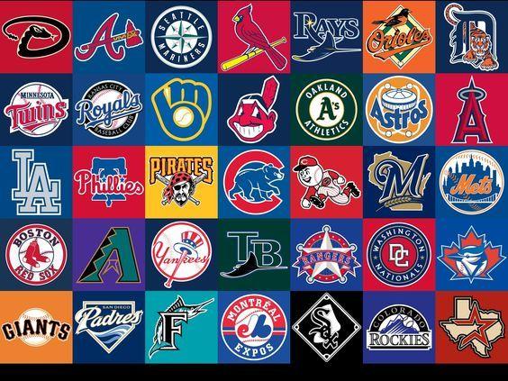 Major League Baseball Teams Baseball Teams Logo Mlb Logos Mlb Teams