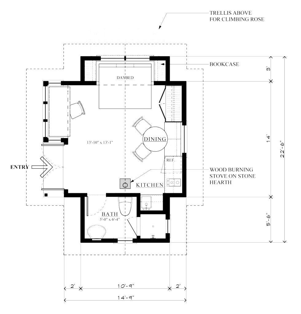 Pin By Lisa Jackson On Tiny House Loft Floor Plans Cottage Style House Plans Cabin Floor Plans