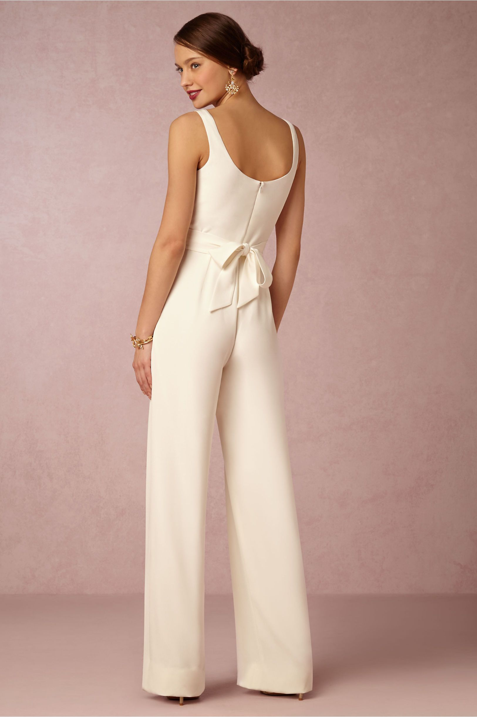 Aurore Jumpsuit in Bride Reception Dresses at BHLDN | Mrs. Ryan ...