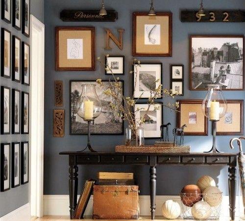 Как организовать композицию из фотографий | Art Walls | Pinterest ...