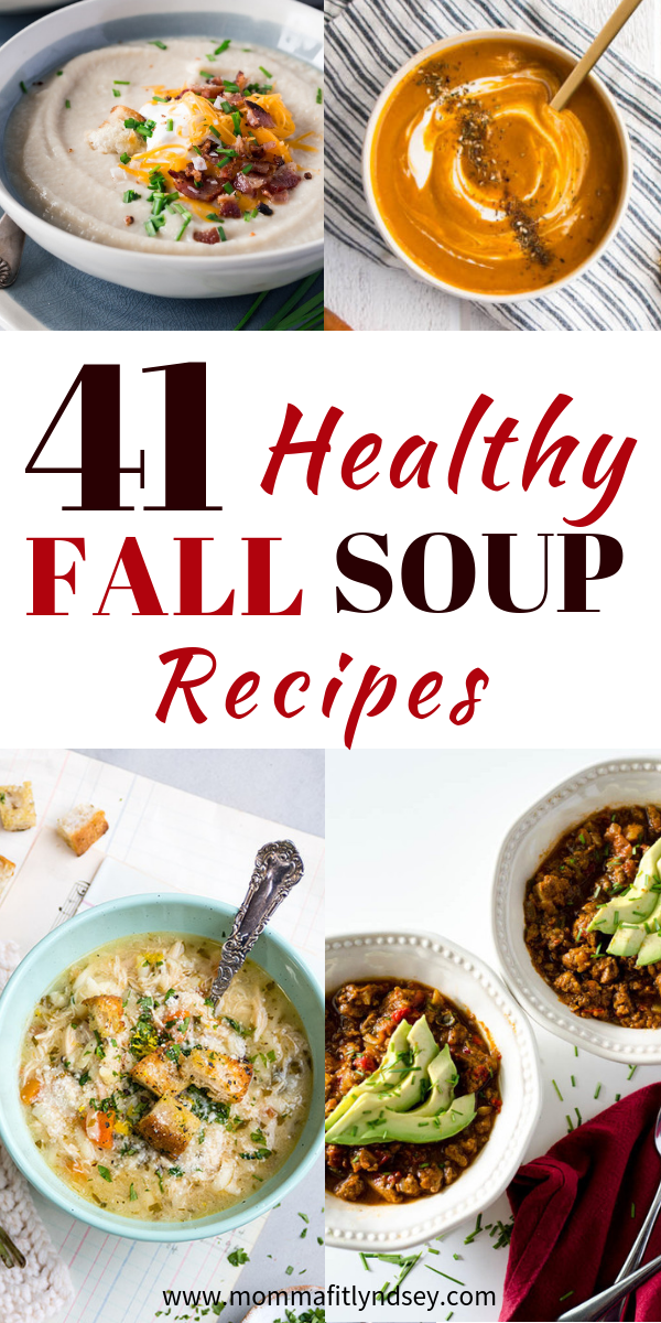 41 Healthy & Hearty Fall Soup Recipes images