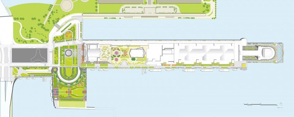14 1121 Navy Pier Site Plan Update Navy Pier Landscape Plans Navy Pier Chicago