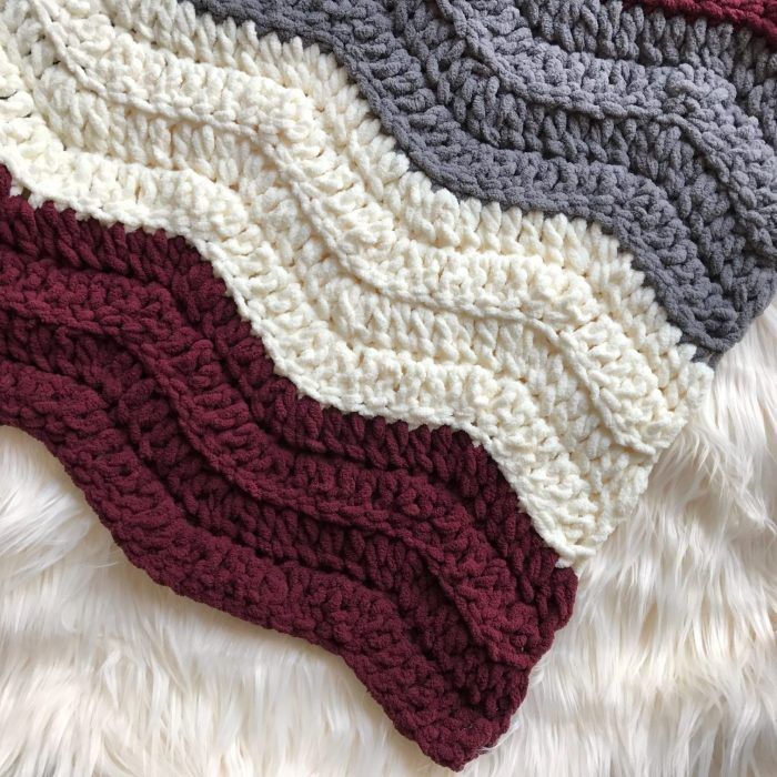 The Lynmouth Blanket – ZoeCreates | Crochet Patterns | Pinterest