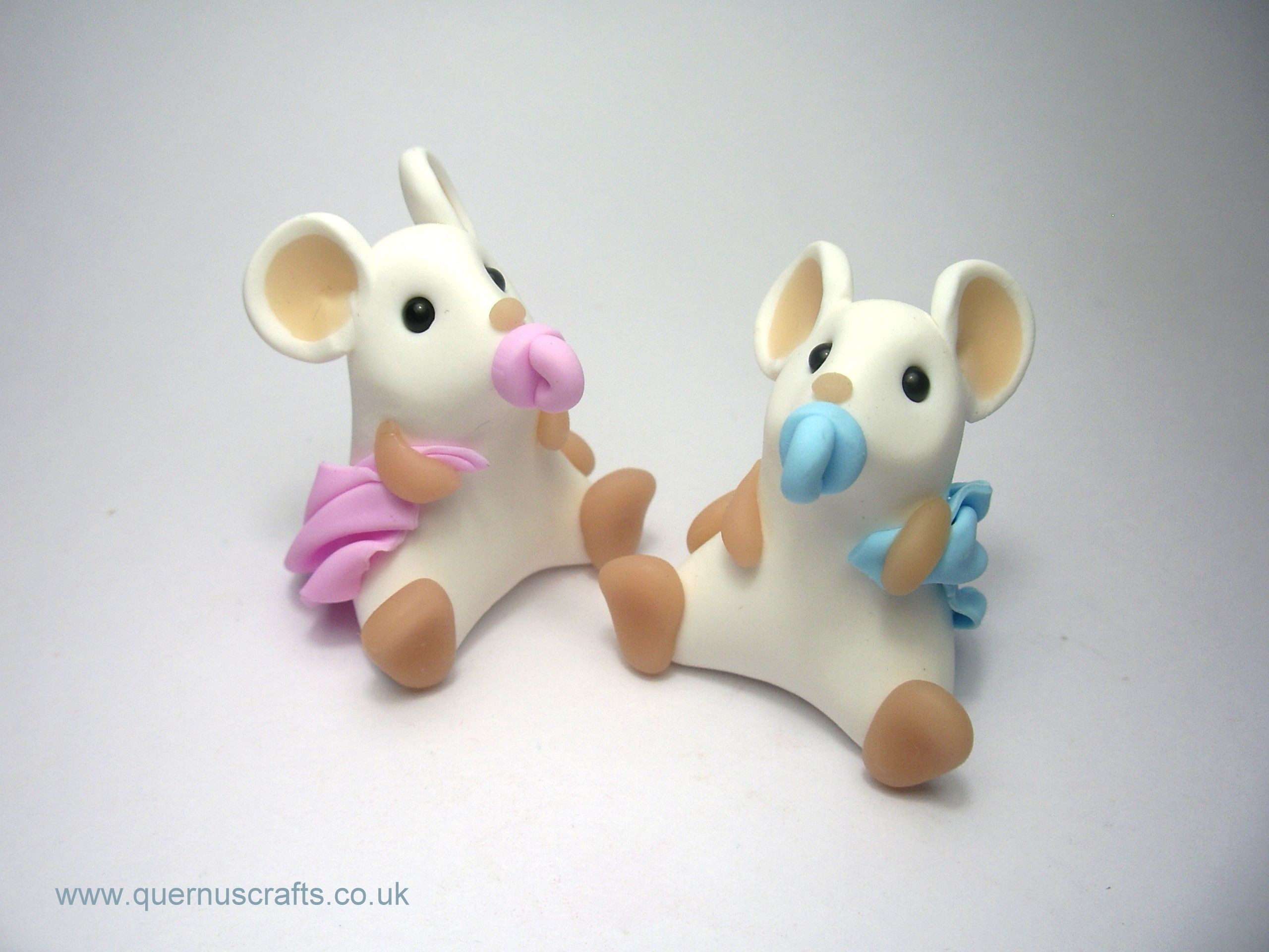 New baby ornaments - Baby Mouse Christening New Baby Ornament Sculpture Sold Individually