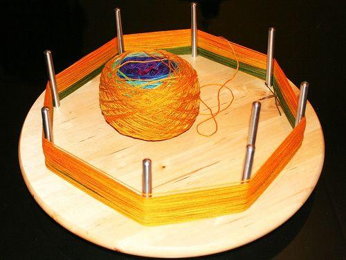 Lazy Susan Yarn Swift Yarn Winder Spinning Yarn