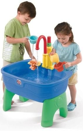 Toddler Water Table With Push Pump A Merry Christmas