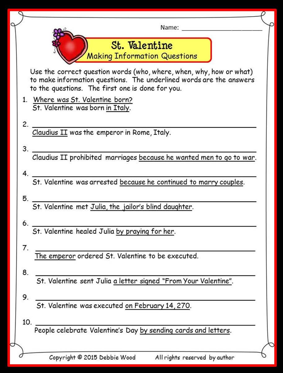 The Legend Of St Valentine Reading Vocabulary And Much More Reading Comprehension Worksheets Reading Comprehension Comprehension Worksheets