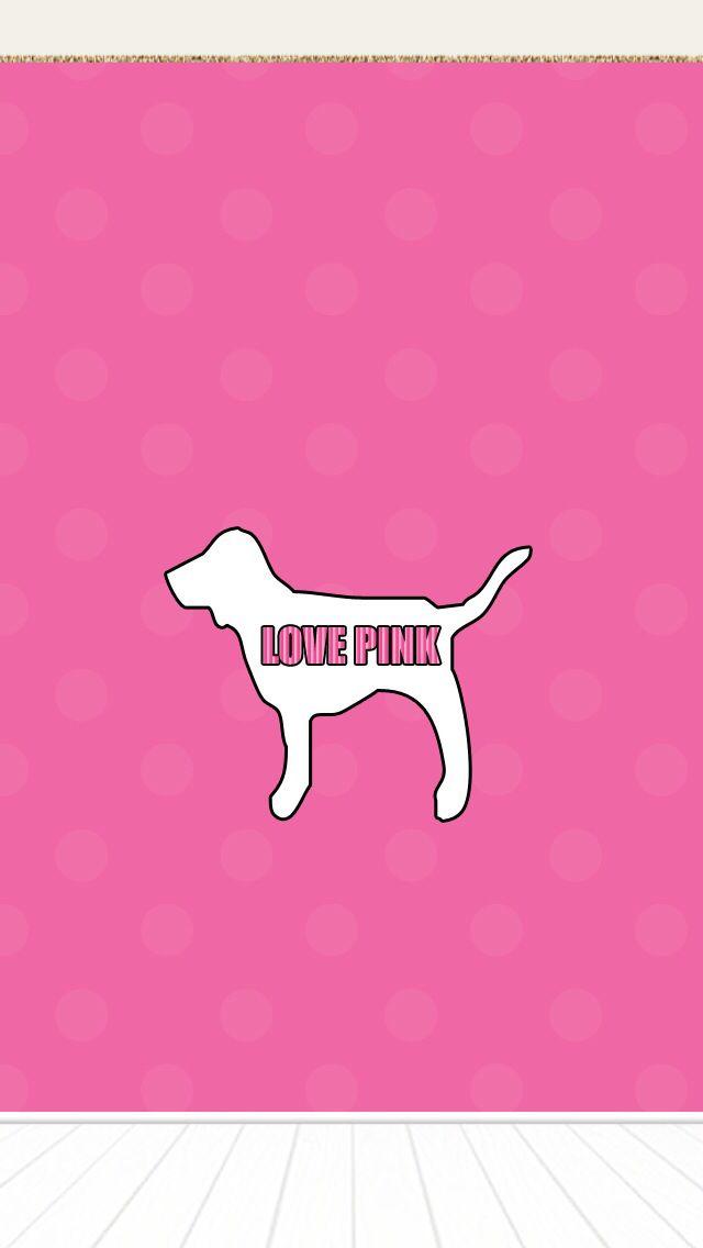 pink dog wallpaper love victoria secret pretty
