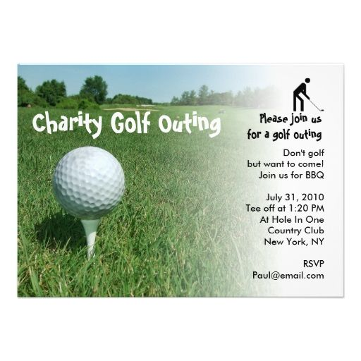 Golf Outing Charity Party Invitation | Party invitations and ... on party dessert bar ideas, evening garden party decorating ideas, alaska party ideas, work goodbye party ideas, staff party ideas, colorful party decoration ideas, fire and ice party ideas, welfare office party ideas, moving party ideas, fun employee party ideas, employee farewell party ideas, summer office party ideas, army farewell party ideas, cruise themed party ideas, deployment party ideas, going away party ideas, women party ideas, chicago party ideas, new job party ideas, ghetto party ideas,