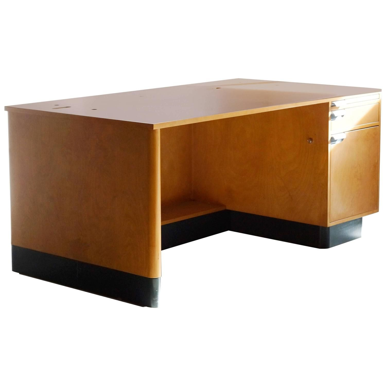 Walt Disney Studios Animation Desk Designed by KEM Weber | See more antique and modern Desks at https://www.1stdibs.com/furniture/storage-case-pieces/desks