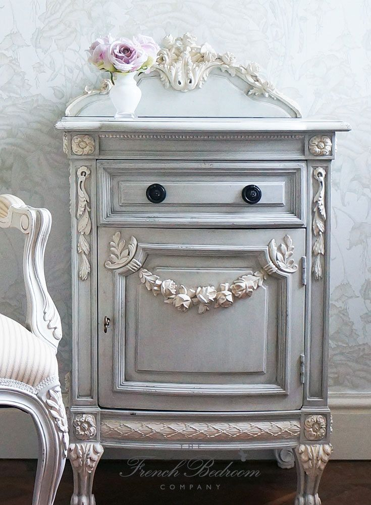 Get The Look Pale Blue Grey French Bedroom Paint Design