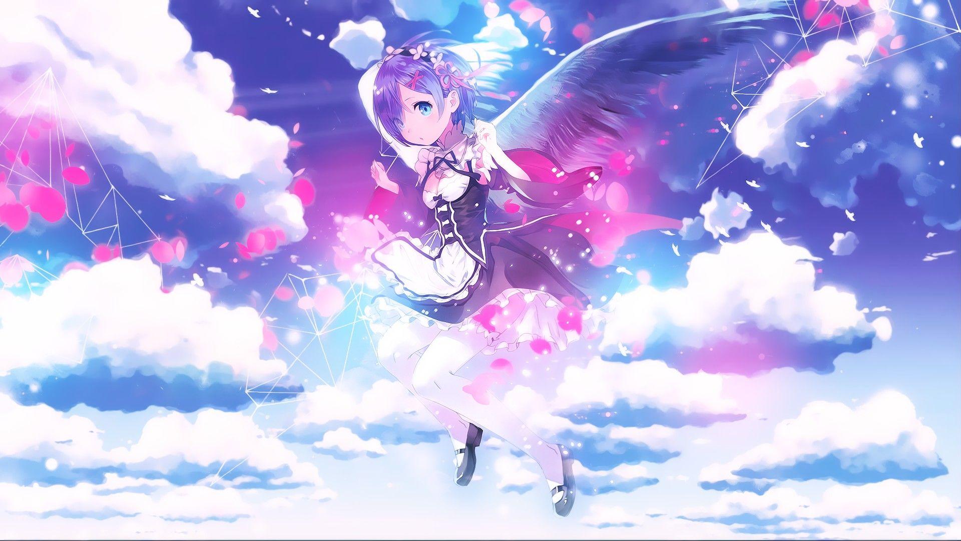 anime re zero wallpaper rem - 2018 wallpapers hd | wallpaper