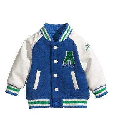 Baseball Jacket | H US ...this literally looks identical to my ...