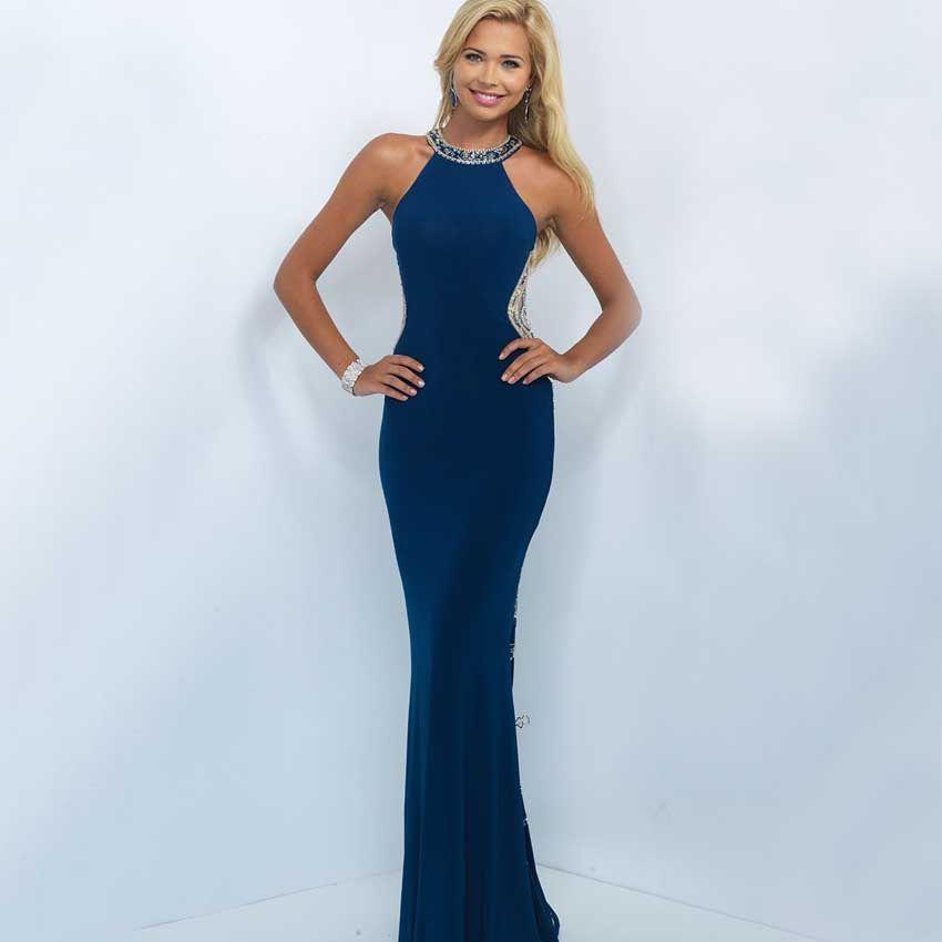 Long fitted satin evening dress | Beautiful dresses | Pinterest ...