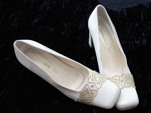 Celtic Bridal Shoes Wonderful Wedding Shoes Celtic Wedding