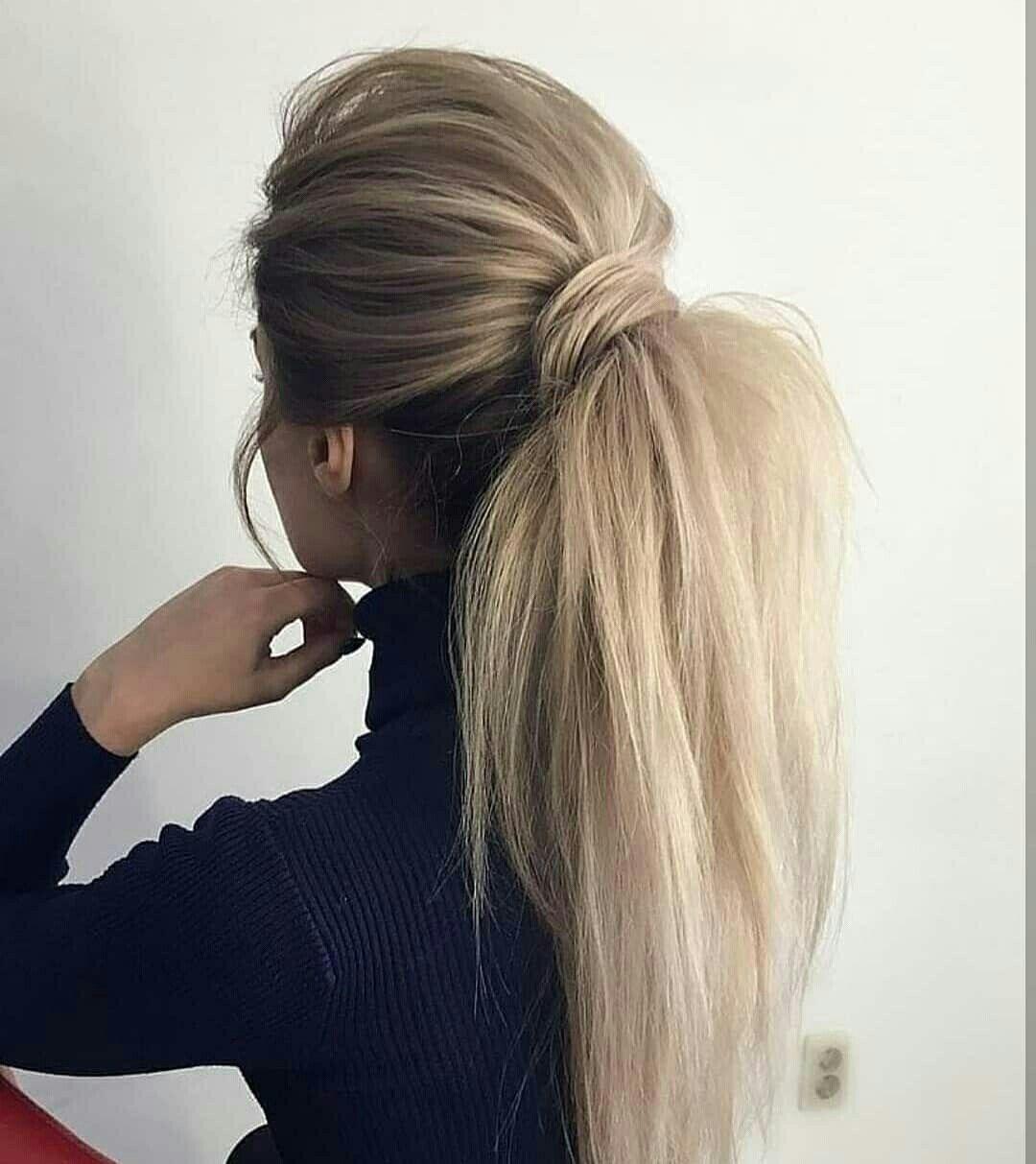 Rabo de cavalo volumoso  @milano_streetstyle  #cabelo #hairstyle #penteados #hair #ponytail #rabodecavalo #ponytailhairstyles