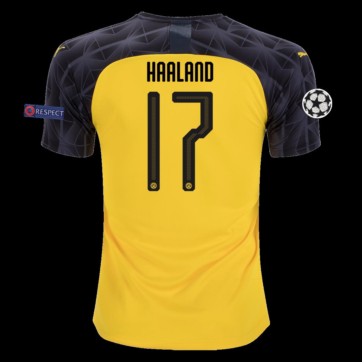 Puma Erling Haaland Borussia Dortmund Champions League Jersey 19 20 S In 2020 Dortmund Champions League Borussia Dortmund