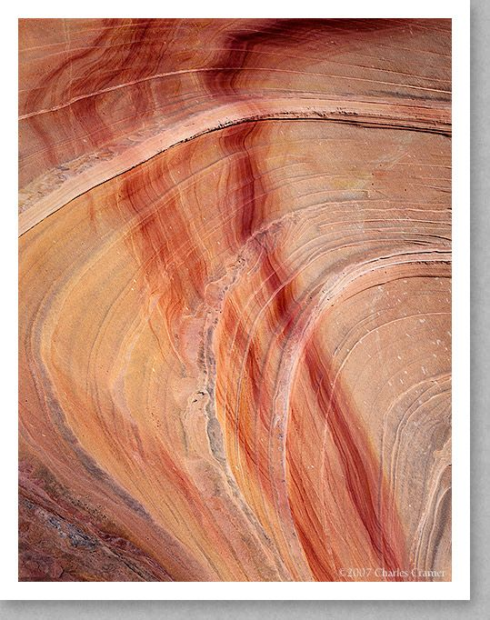 Striations and Stains, Paria Wilderness, Utah