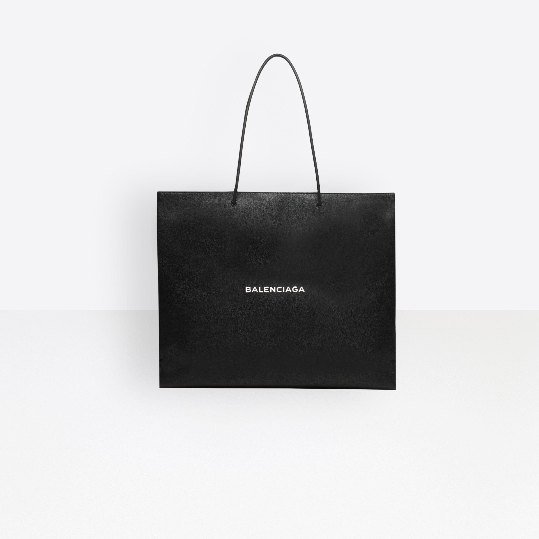 f8692e56a92ed Shopping Bag East-West L | Men's Jewelry & Accessories | Balenciaga ...