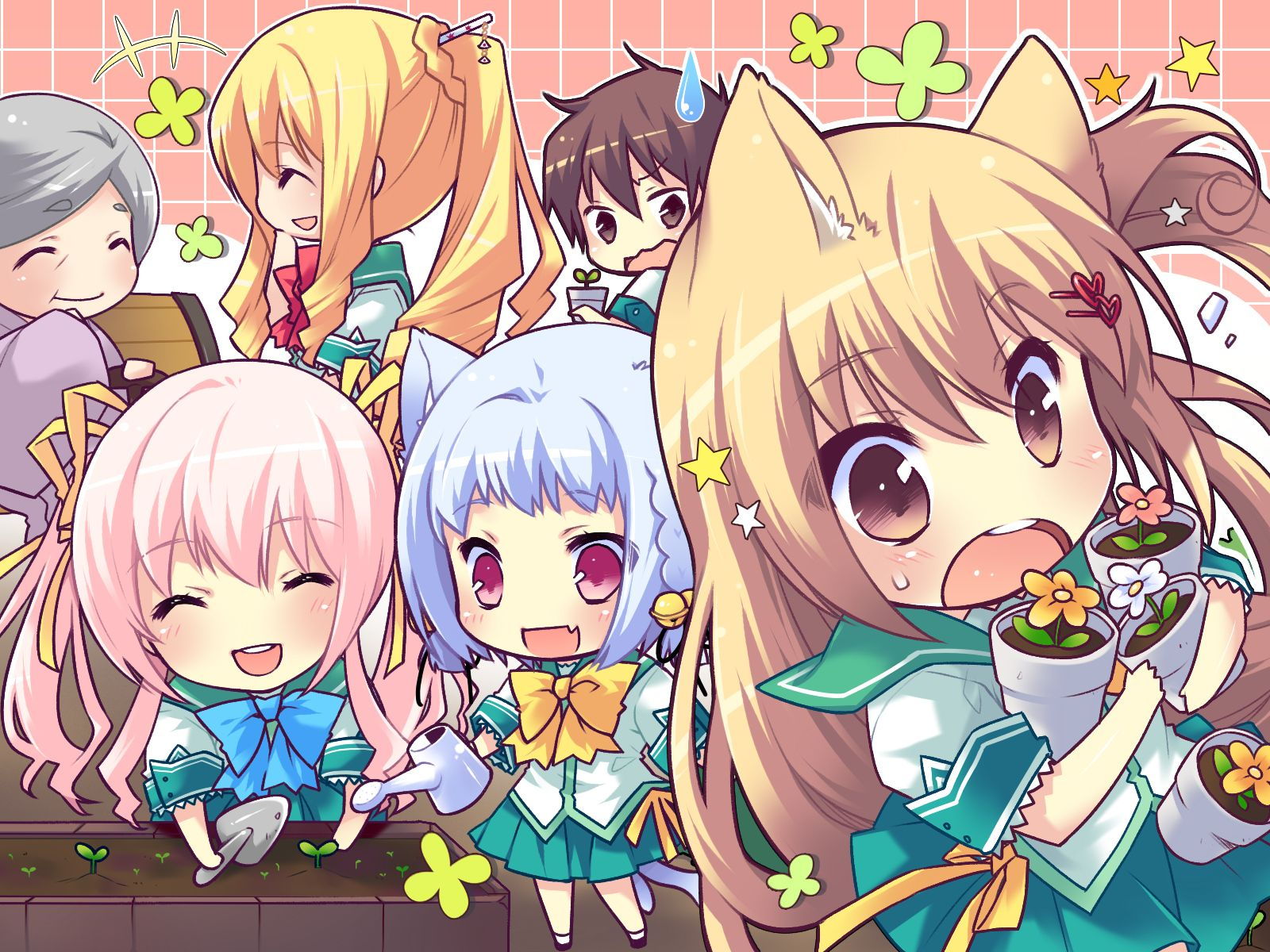 High Resolution Chibi Anime Wallpaper