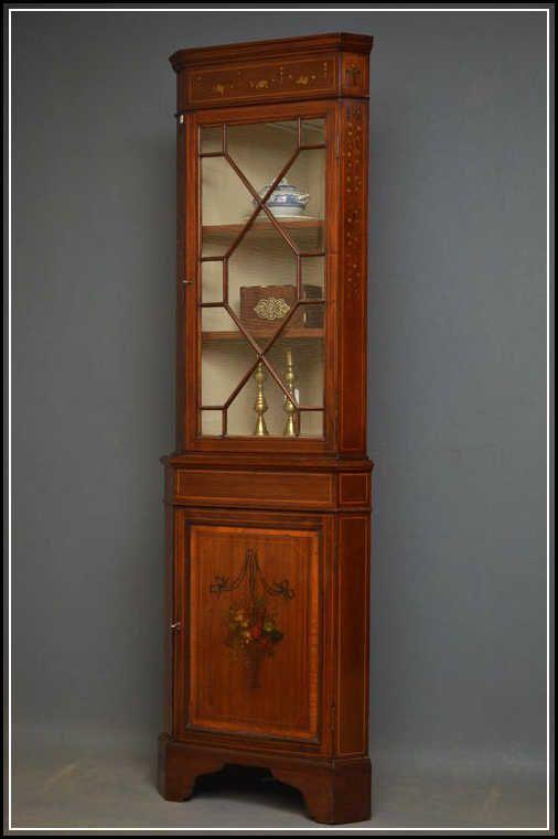 Antique Corner Cabinet Vintage And Aesthetic Antique Corner