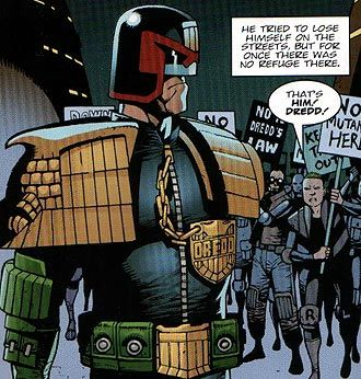 judge dredd comic   Review: Judge Dredd Origins