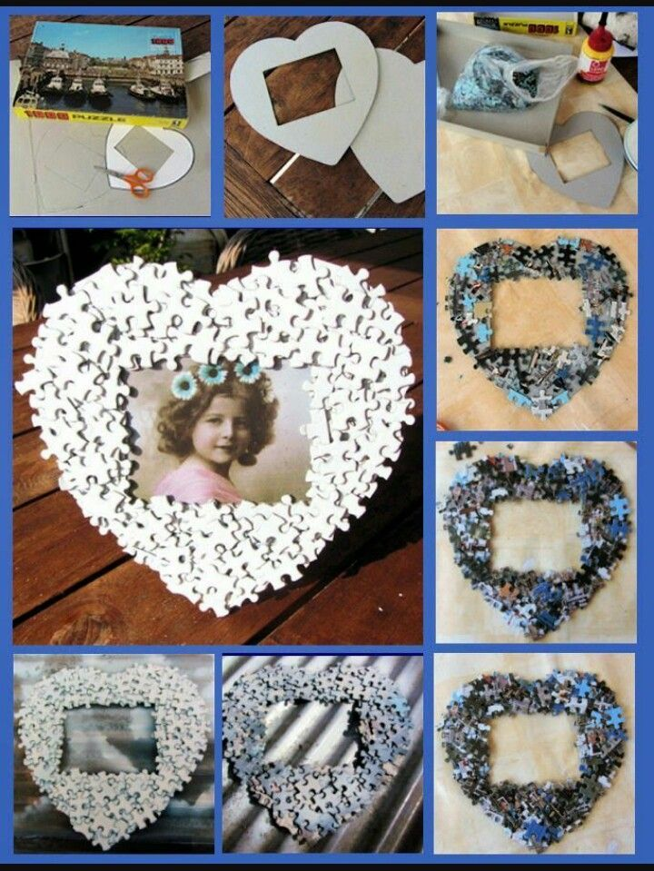 Oude foto's origineler maken | creatief - Puzzelstukjes ...
