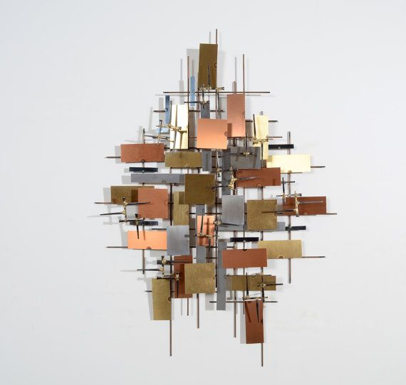 Brutalist Wall Art Mid Century Modern Streets of by HearthsideHome ...