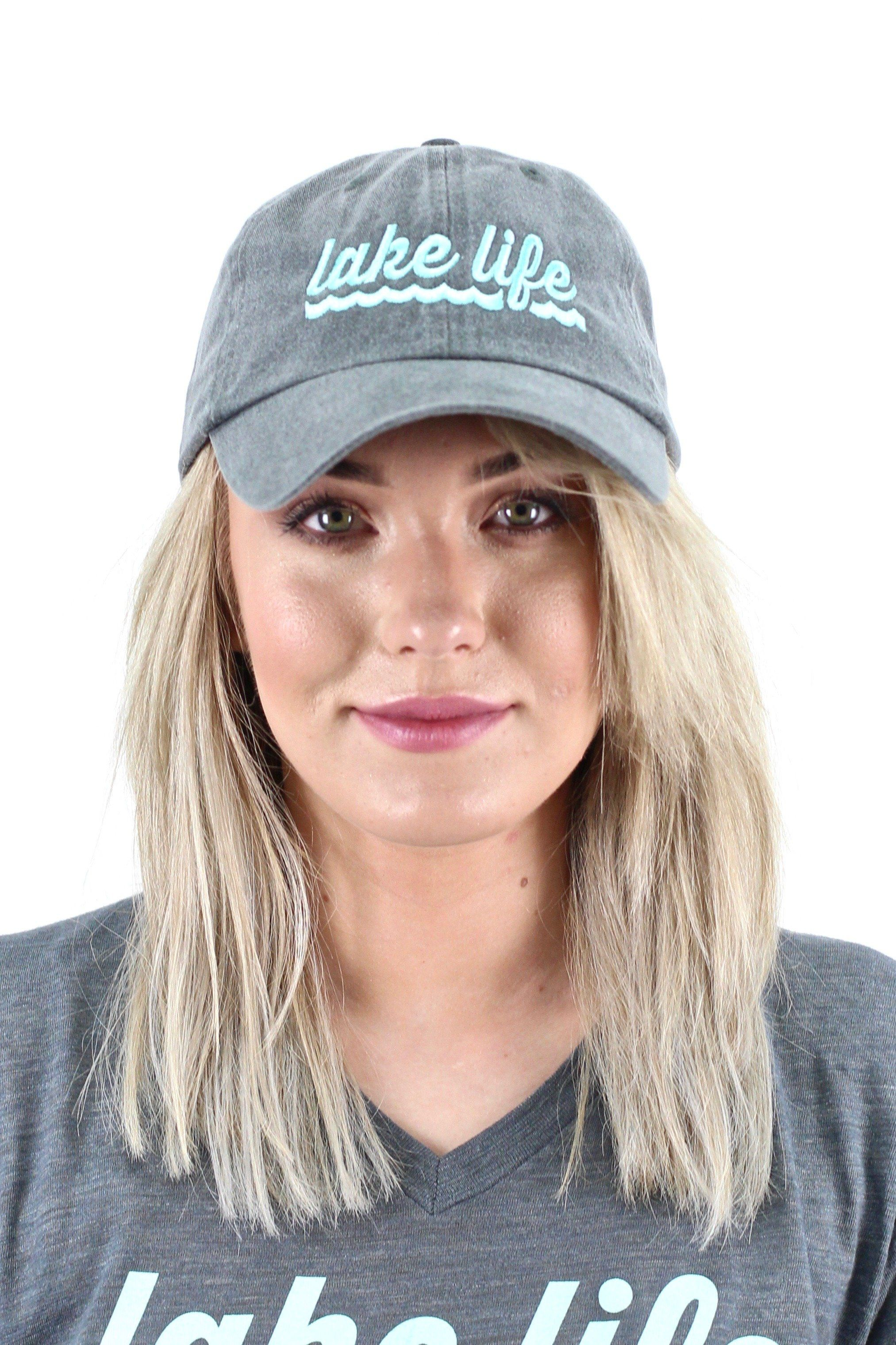 Lake Life Cap Grey Products