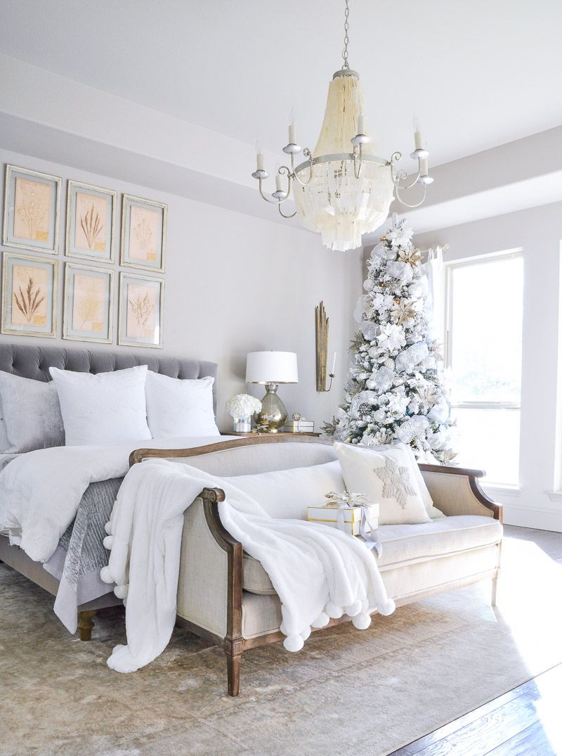 Best Winter Bedrooms Simple Christmas Touches By Winter 640 x 480