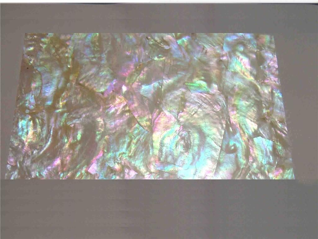 Sheet Of Genuine Gorgeous Rainbow Mother Of Pearl Shell Veneer Auction Item Click Through May Not Be There Inlay Jewelry Overlays Veneers
