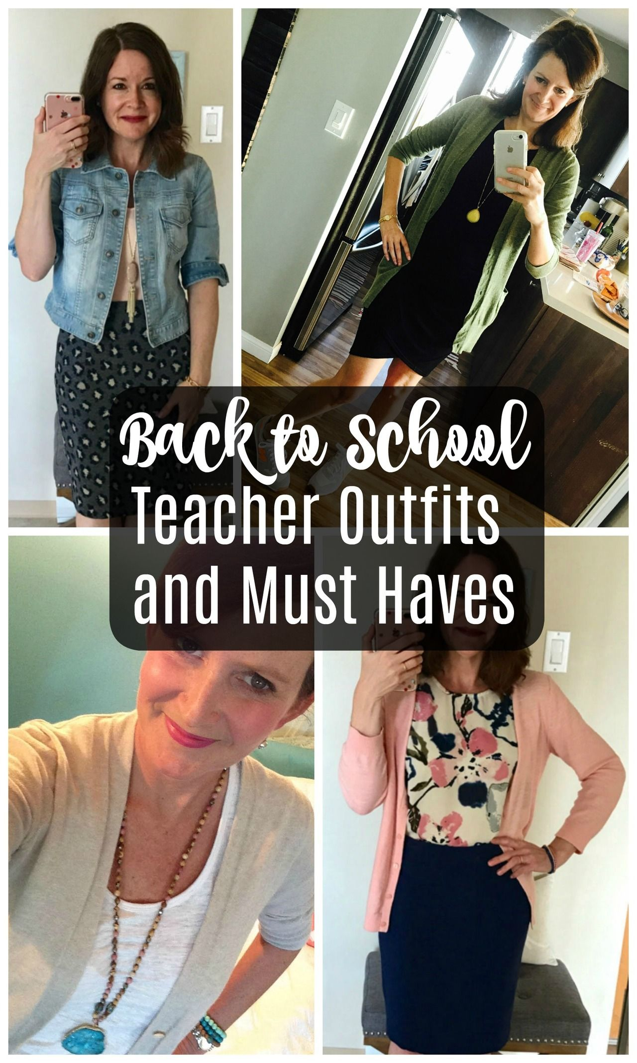 Real Teachers Back to School Outfits and Must Haves + Giveaway! - Get Your Pretty On