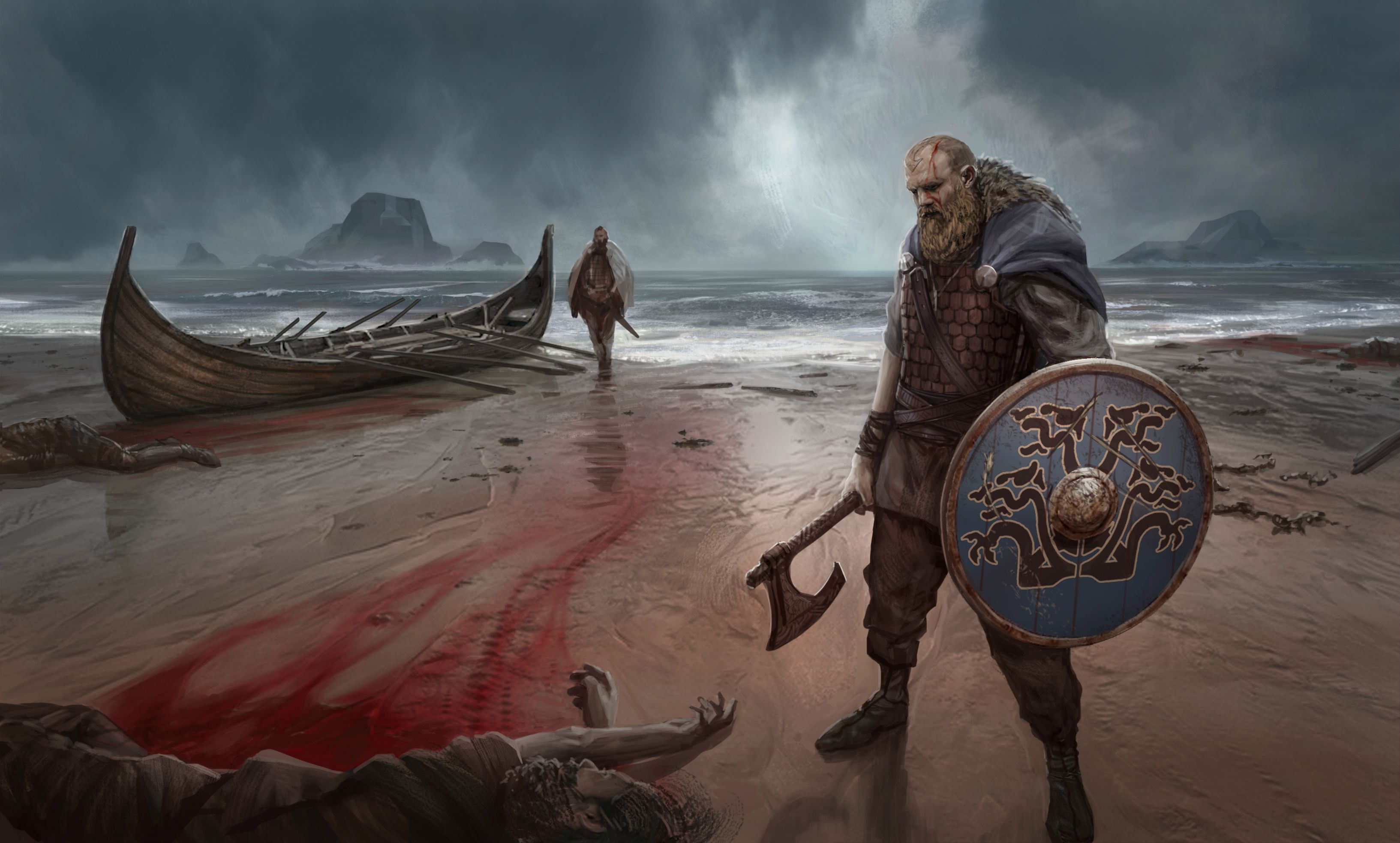 Hey reddit, I painted this viking painting! what do you