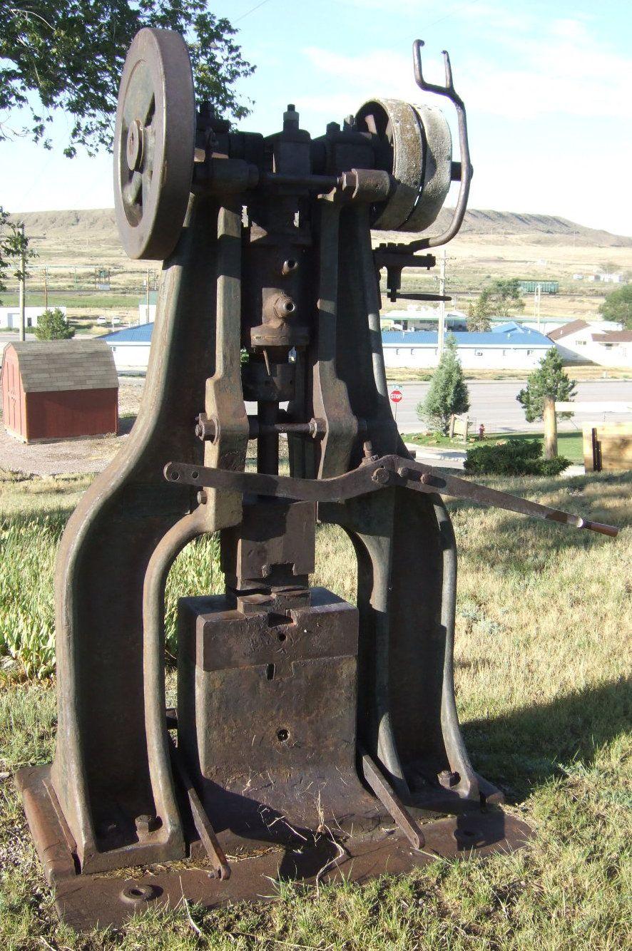 100lb H frame Hackney | power hammers | Power hammer, Blacksmith
