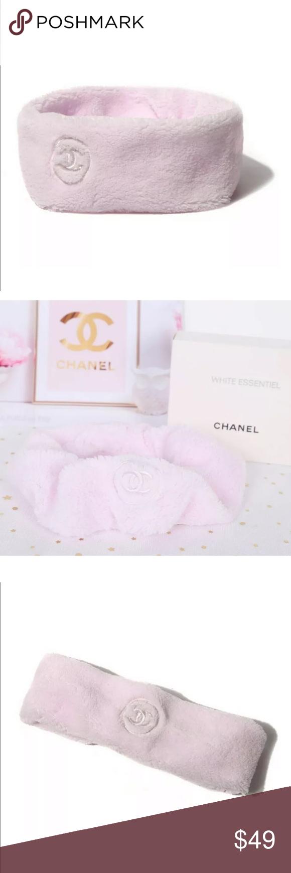 CHANEL Yoga Fleece Hairband Plush Skincare CC CHANEL Yoga Fleece Hairband Plush ...  #Chanel #Fleece #Hairband #Plush #Skincare #Yoga