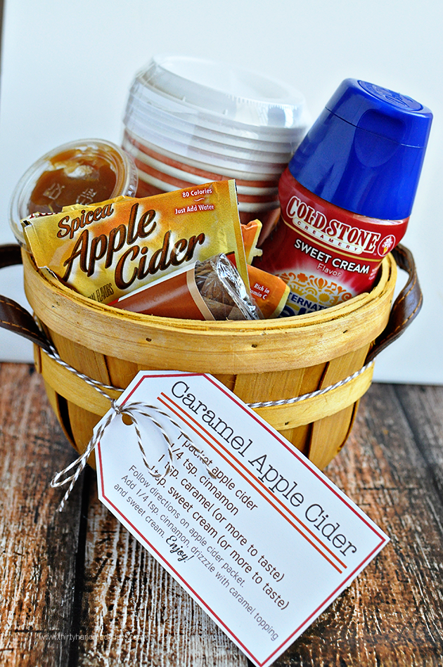 Caramel Apple Cider Kit Gift Ideas Regalos Canastas