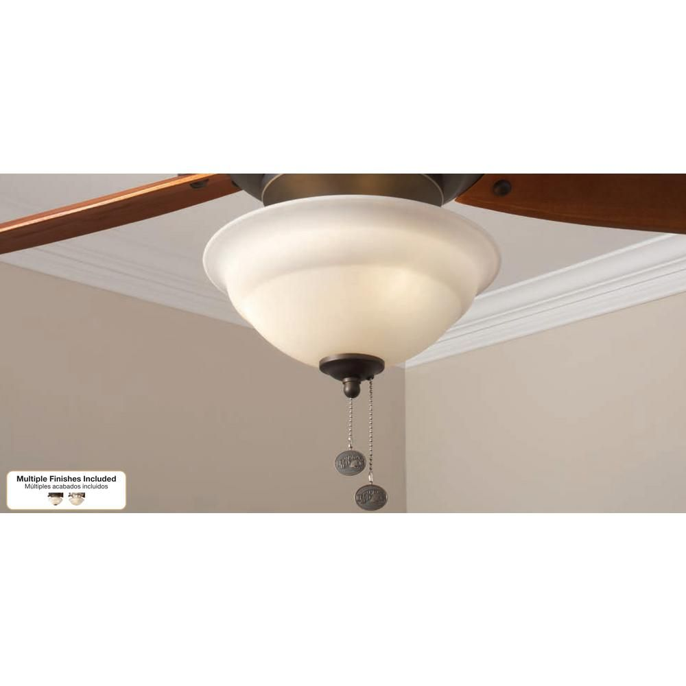 Hampton Bay Altura Led Ceiling Fan Light Kit 91169 The Home Depot Fan Light Kits Ceiling Fan Light Kit Ceiling Fan