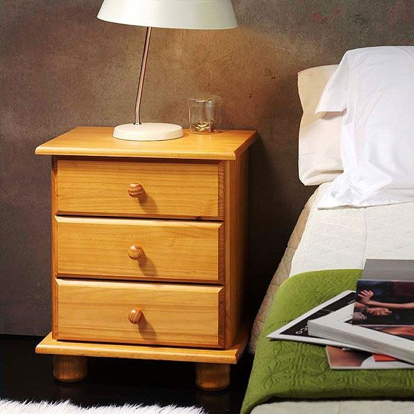 Mira qué oferta de mesita de madera color miel No te pierdas más
