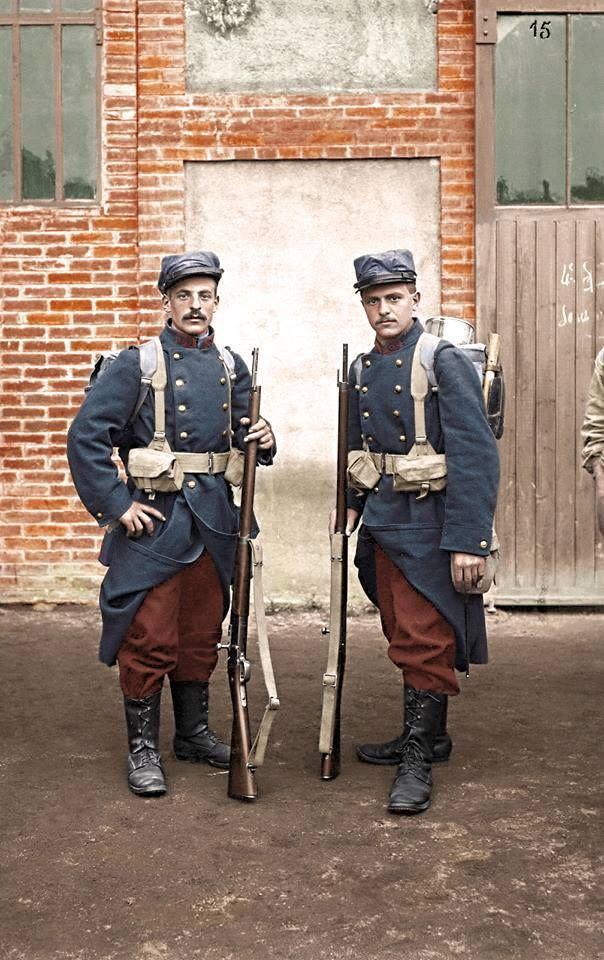 French infantry | Первая мировая война, Военная форма ...