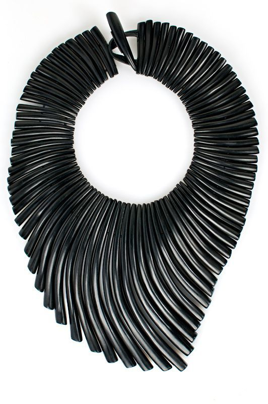 Monies Ebony Wave Necklace Santa Fe Dry Goods Clothing and