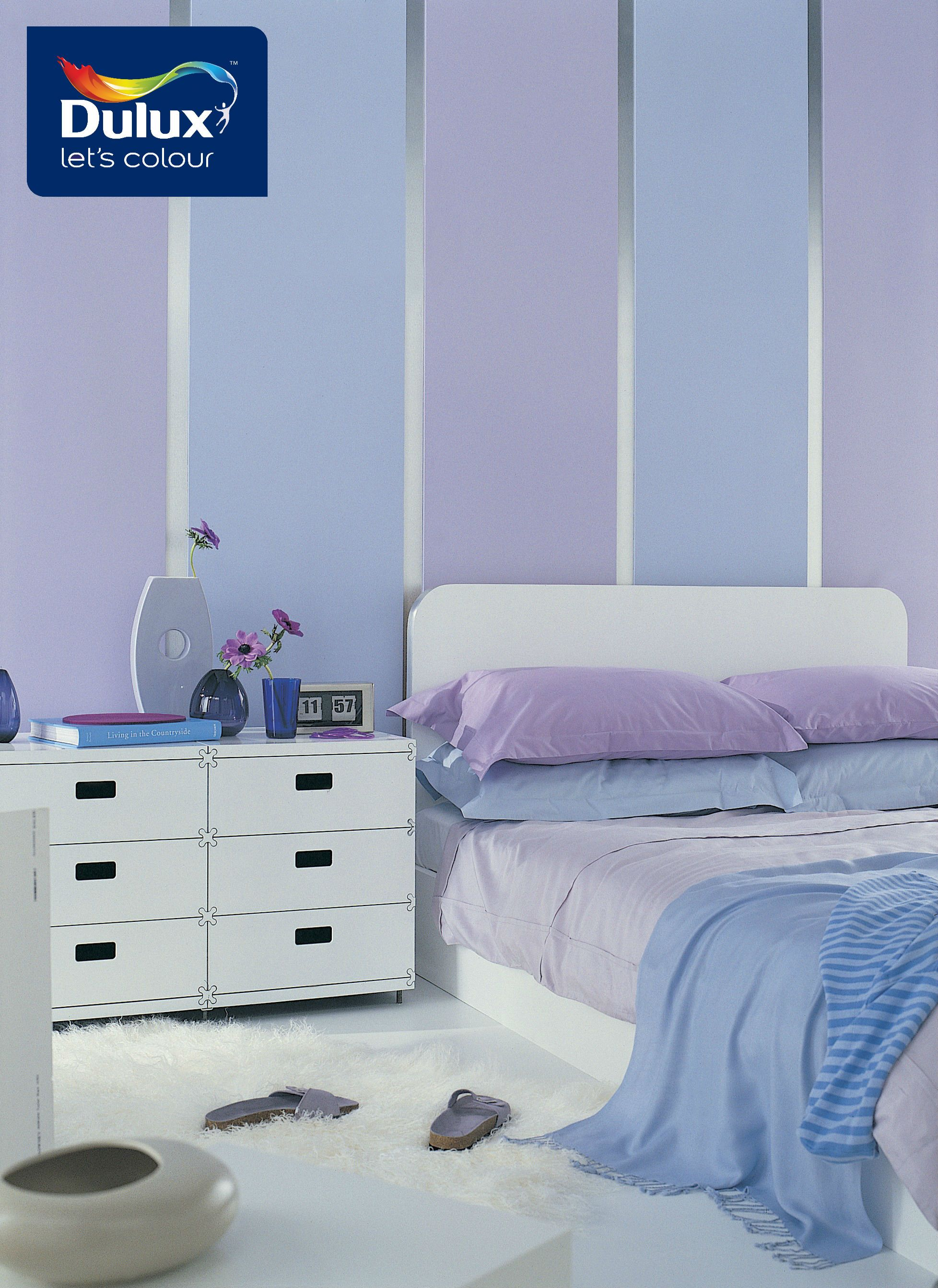 Give Your Bedroom A Dose Of Glam With Purple To Create A Sharp