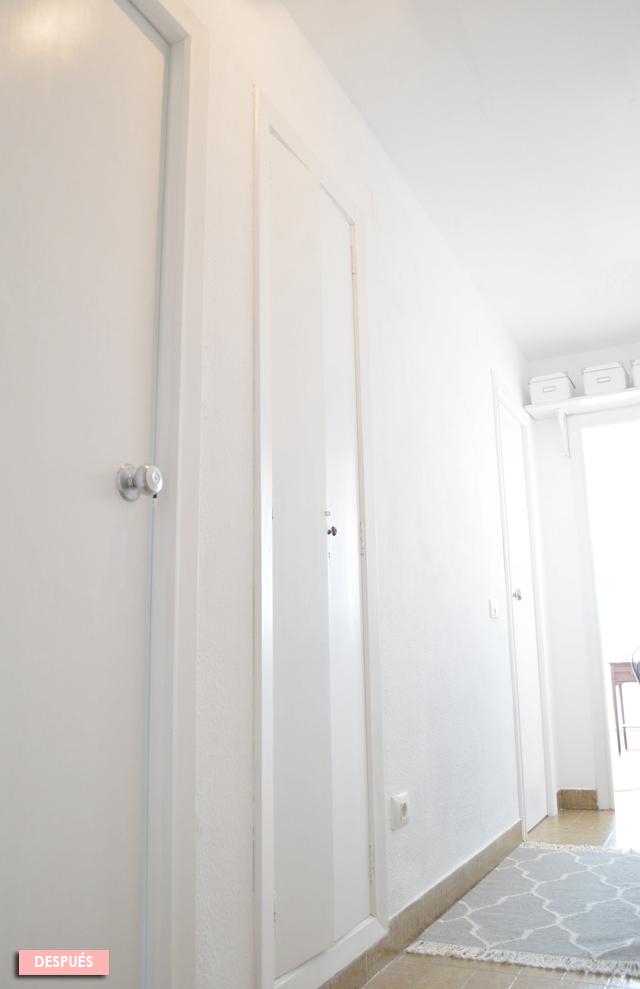 El antes y despu s de las puertas de mi casa de viejunas for Pintar puertas de blanco en casa